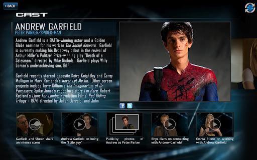 Amazing Spider-Man 2nd Screen - Imagem 1 do software