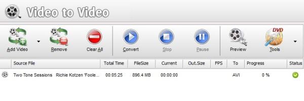 Video to Video Converter - Imagem 3 do software