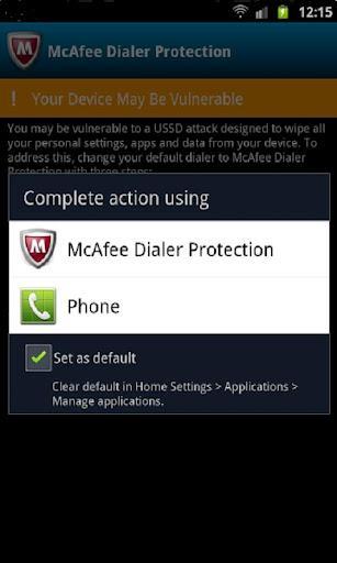 McAfee Dialer Protection - Imagem 1 do software