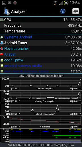Android Tuner - Imagem 2 do software