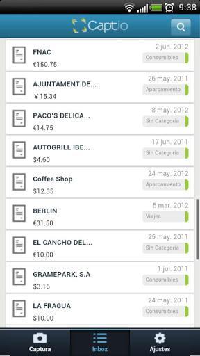 Captio Expenses - Imagem 2 do software