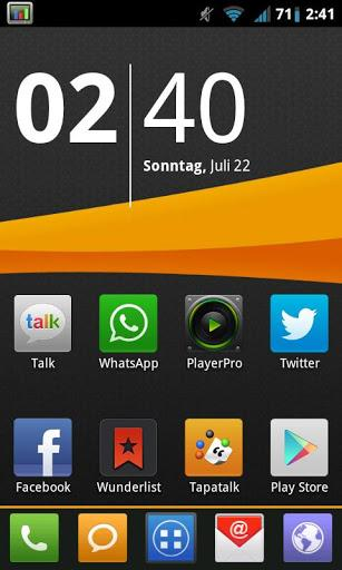 MIUI X4 Go Launcher Theme PRO - Imagem 2 do software