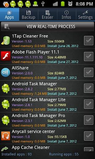 Android App Gestor - Imagem 1 do software