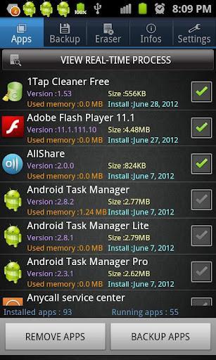 Android App Gestor - Imagem 2 do software