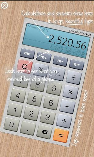 Calculator Plus Free - Imagem 1 do software