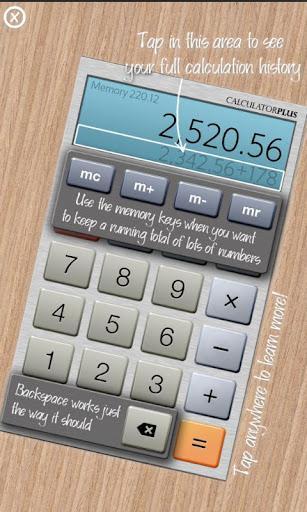 Calculator Plus Free - Imagem 2 do software