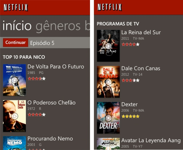 Netflix - Imagem 1 do software