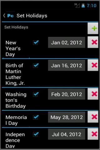 Power Calendar - Imagem 2 do software