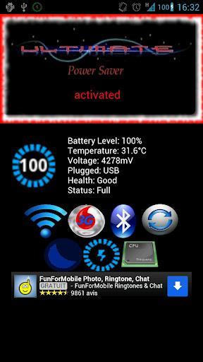 Ultimate Power Saver - Imagem 1 do software