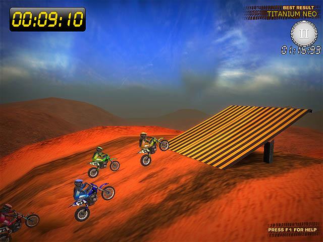 Desert Moto Racing.