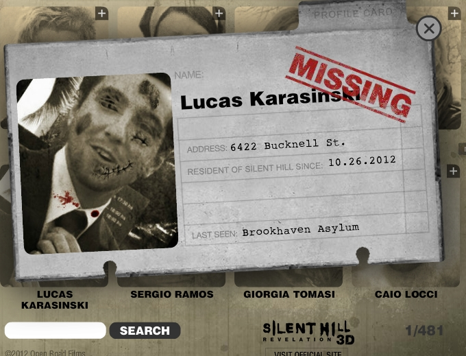 Silent Hill Residential Directory.