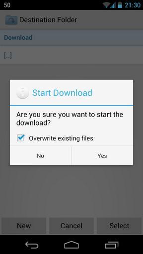 Folder Downloader for Dropbox - Imagem 3 do software