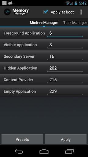 Memory Manager - Imagem 2 do software