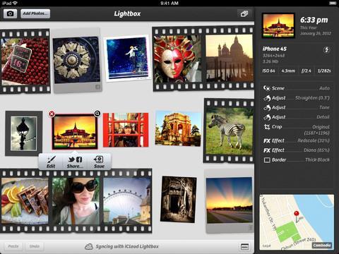 Camera+ para iPad - Imagem 2 do software