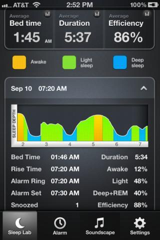 Sleep Time -  Alarm Clock - Imagem 1 do software