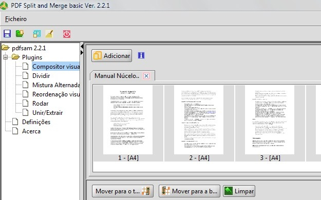 PDF Split and Merge.