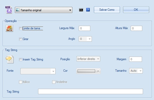 Format Factory - Imagem 4 do software