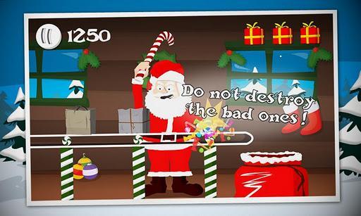 Crazy Santa: Xmas Gift Smasher - Imagem 1 do software