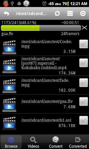 Video Converter Android - Imagem 1 do software