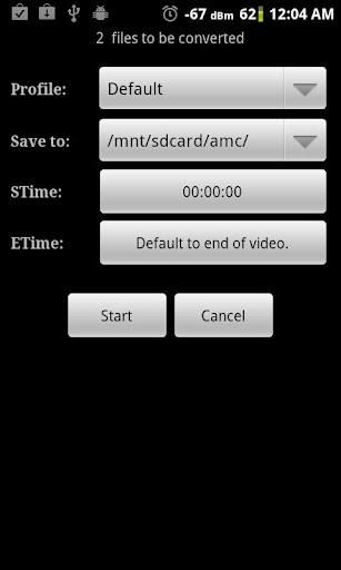 Video Converter Android - Imagem 2 do software