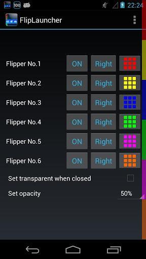 FlipLauncher - Imagem 2 do software