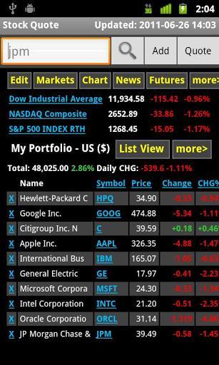 Stock Quote - Imagem 1 do software