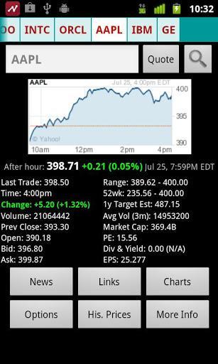Stock Quote - Imagem 2 do software