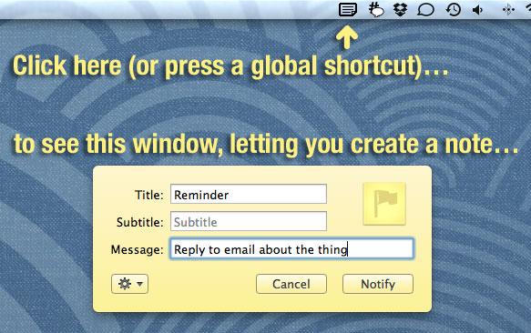 Sticky Notifications - Imagem 1 do software