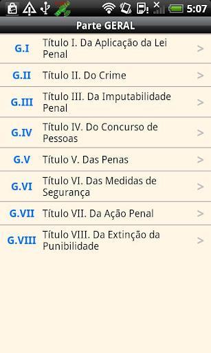 Código Penal Brasileiro - Imagem 1 do software