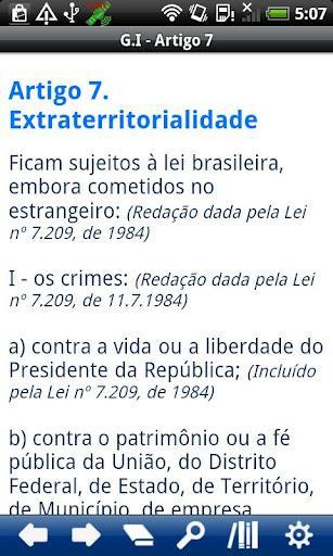 Código Penal Brasileiro - Imagem 2 do software