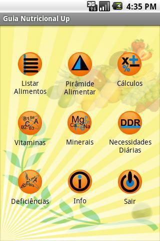 Guia Nutricional Up Free - Imagem 1 do software