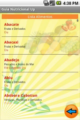 Guia Nutricional Up - Imagem 2 do software