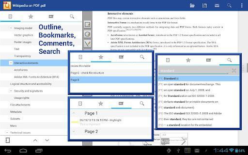 PDF Reader - qPDF Viewer - Imagem 1 do software