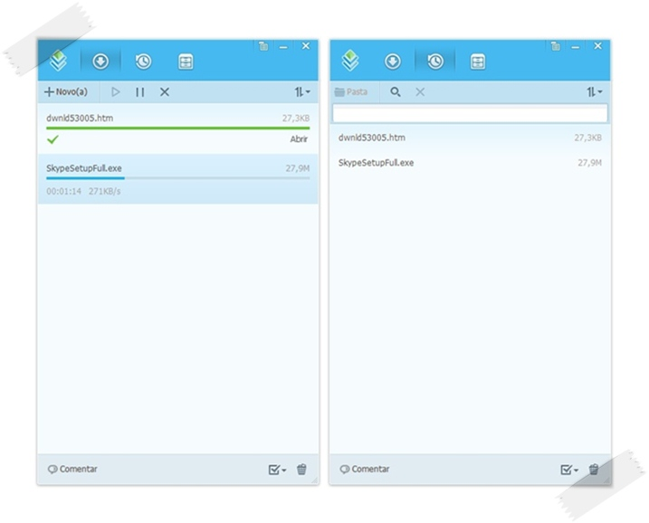 Gerencie de forma simples e eficiente os downloads