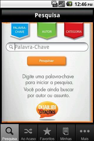 Duailibi das Citações - Imagem 1 do software