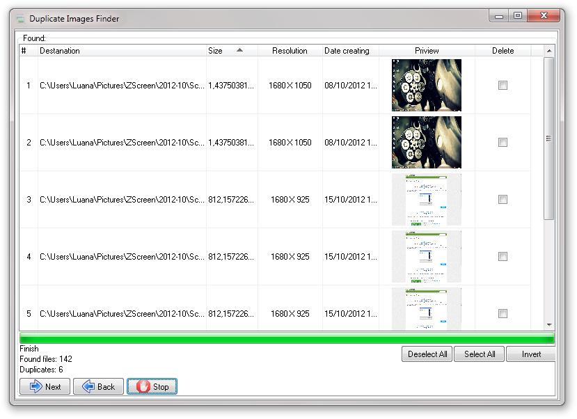 Duplicate Images Finder.
