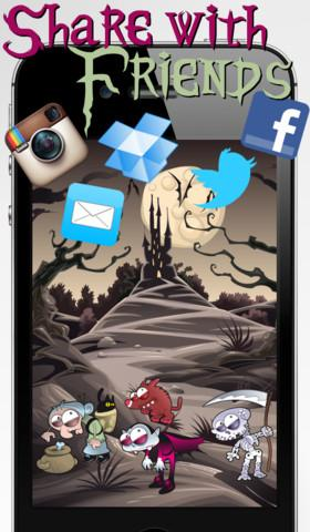 Halloween Card Creator - Free - Imagem 2 do software