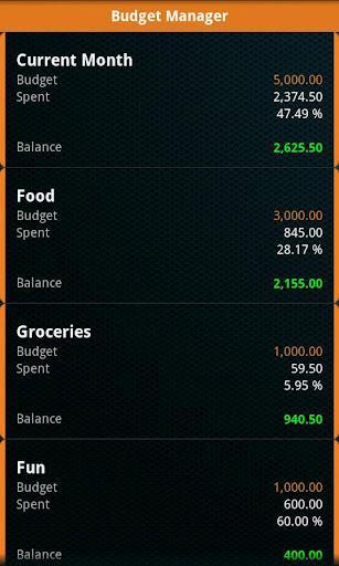 Expense Manager Kanda S - Imagem 2 do software