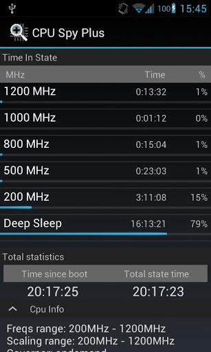CPU Spy Plus - Imagem 2 do software