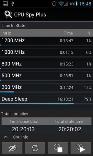 CPU Spy Plus - Imagem 1 do software