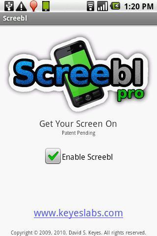 Screebl - Get Your Screen On! - Imagem 1 do software