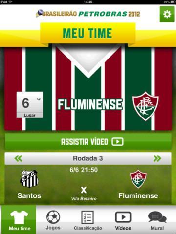 Brasileirão Petrobras 2012 - Imagem 2 do software