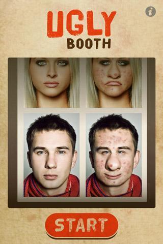 UglyBooth - Imagem 1 do software