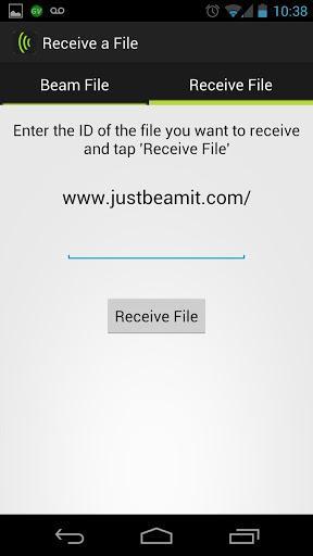 JustBeamIt - Imagem 2 do software