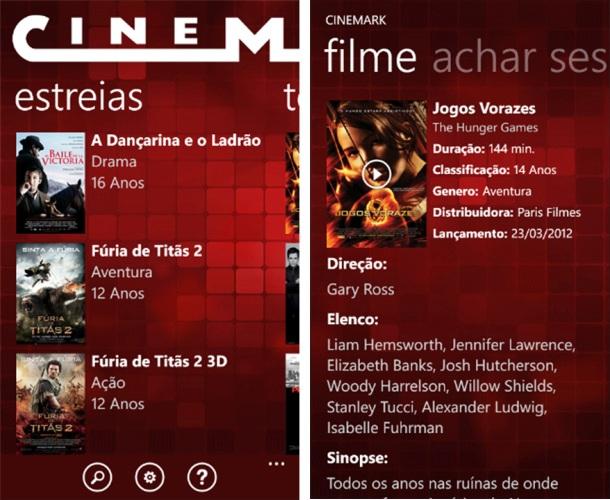 Cinemark - Imagem 1 do software
