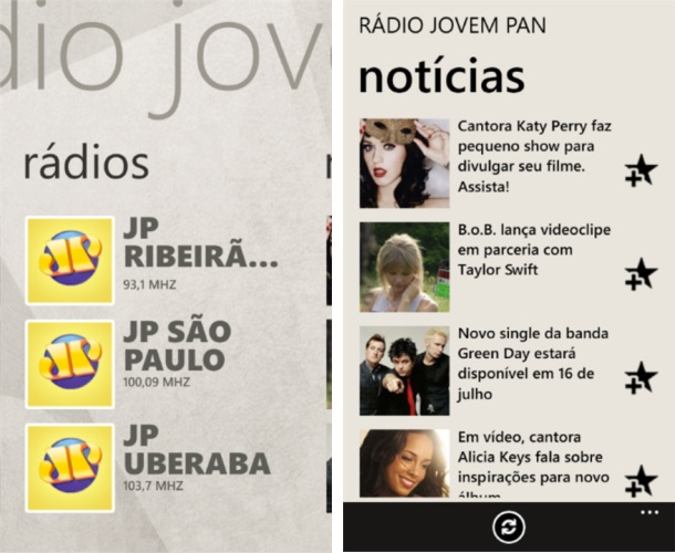 Jovem Pan FM - Imagem 1 do software
