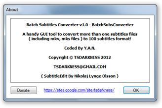 Batch Subtitles Converter Download para Windows Grátis