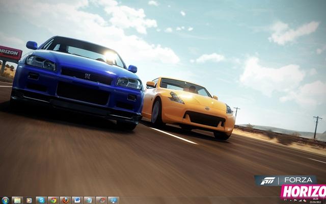 Forza Horizon Windows 7 Theme Download para Windows Grátis