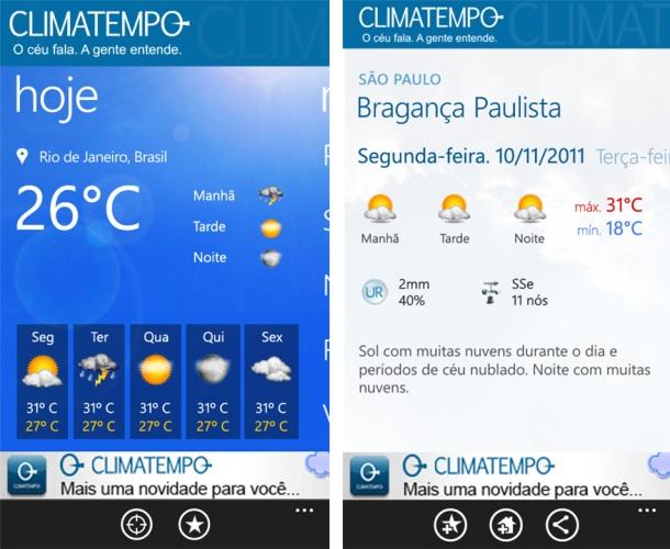 Climatempo - Imagem 1 do software