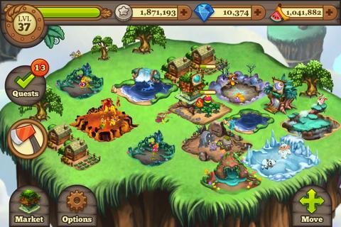 Tiny Monsters by TinyCo - Imagem 1 do software